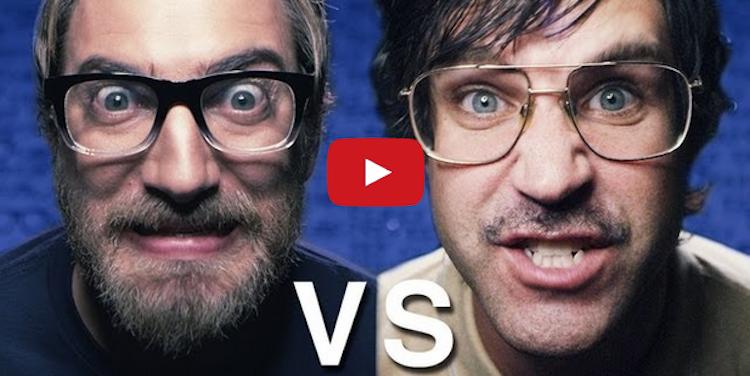 #EPIC Rap Battle: Nerd vs. Geek [Video]