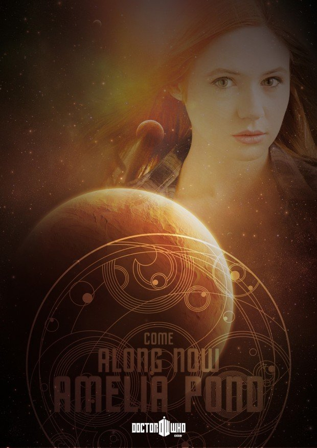Doctor Who Poster - amelia pond