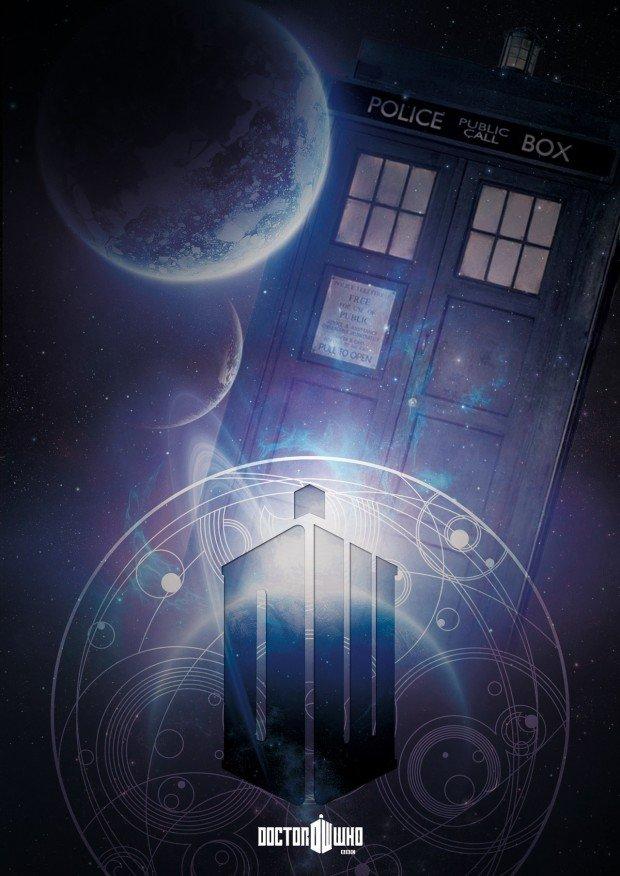 Doctor Who Poster - tardis