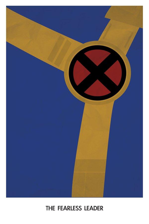 Minimal Geek Character Posters