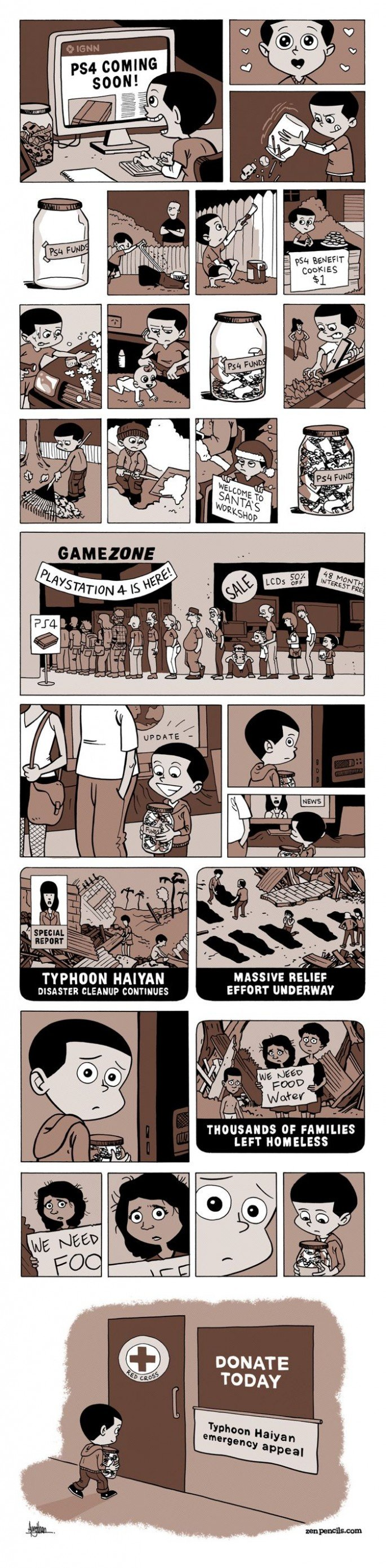 Typhoon Haiyan and The Next Generation [Comic]