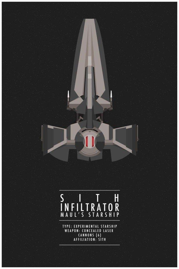 Star Wars Poster Infiltrator