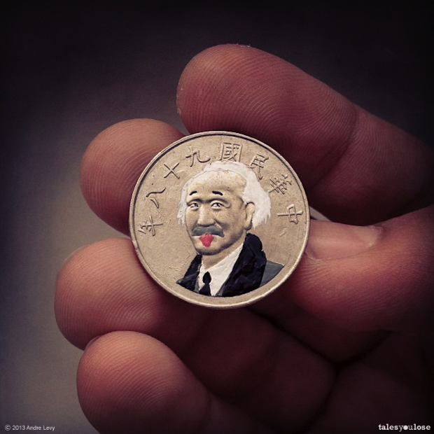 #EPIC Painted Coin Art [Photos]
