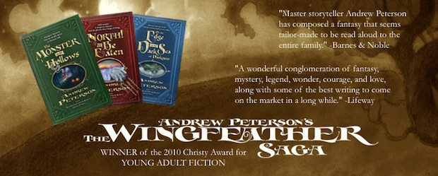 The WIngfeather Saga Book Series andrew peterson