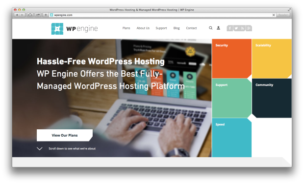 WP Engine Screenshot