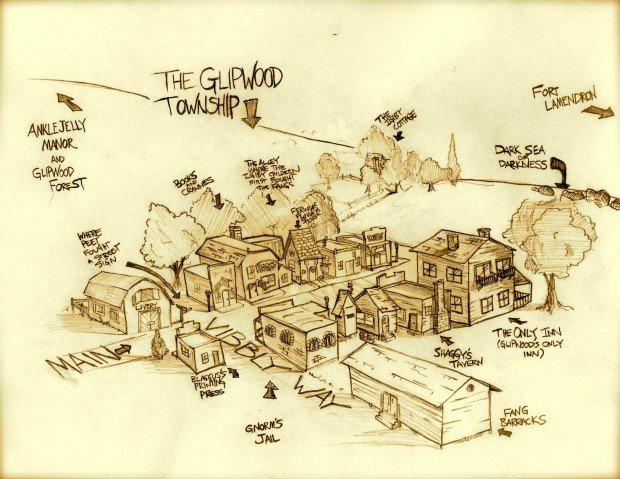 Wingfeather Saga Map 2