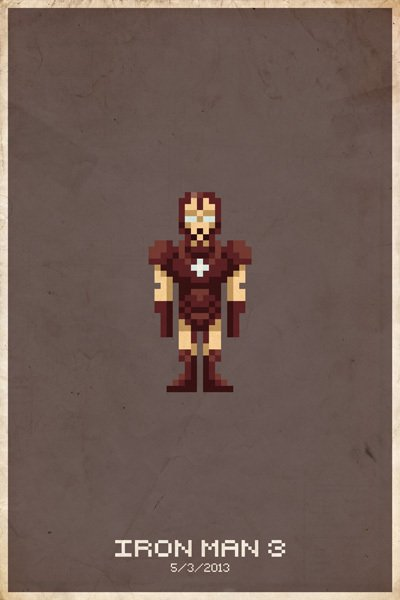 8Bit Heros - Iron Man