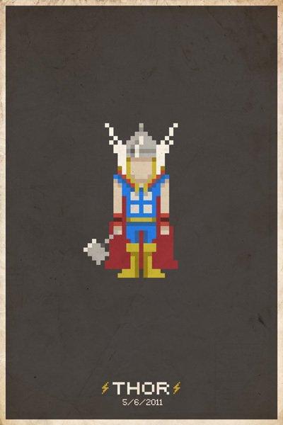 8Bit Heros - Thor