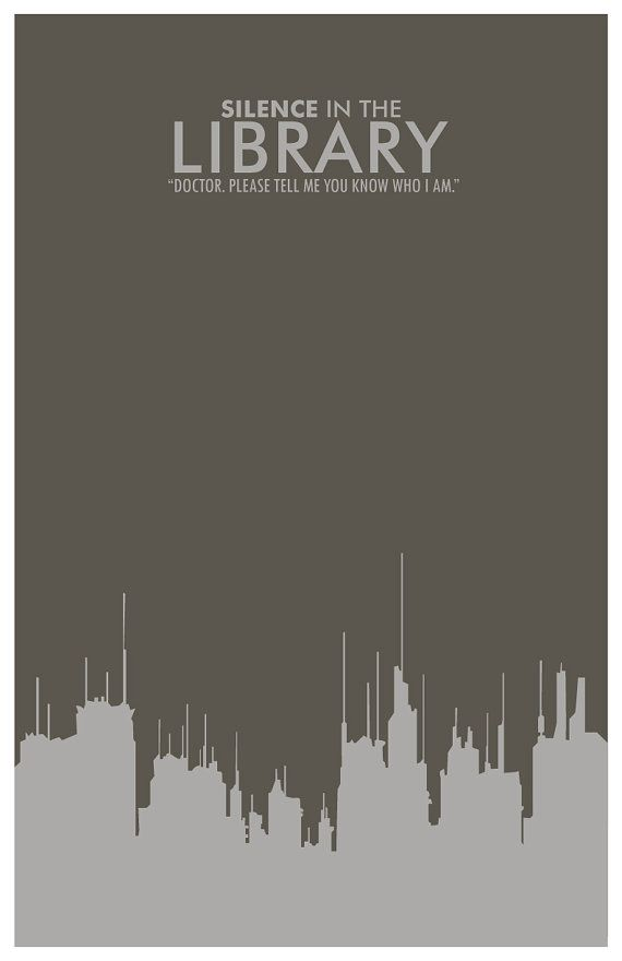 Doctor Who Posters - Silence