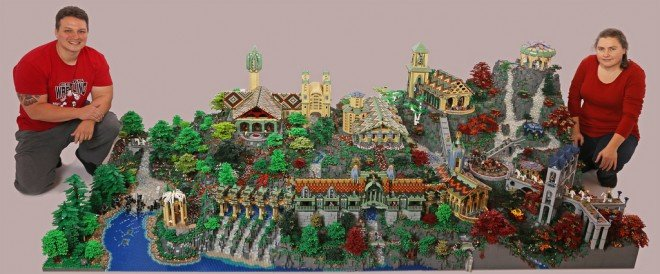 LEGO Rivendell Lord of the Rings The Hobbit LOTR