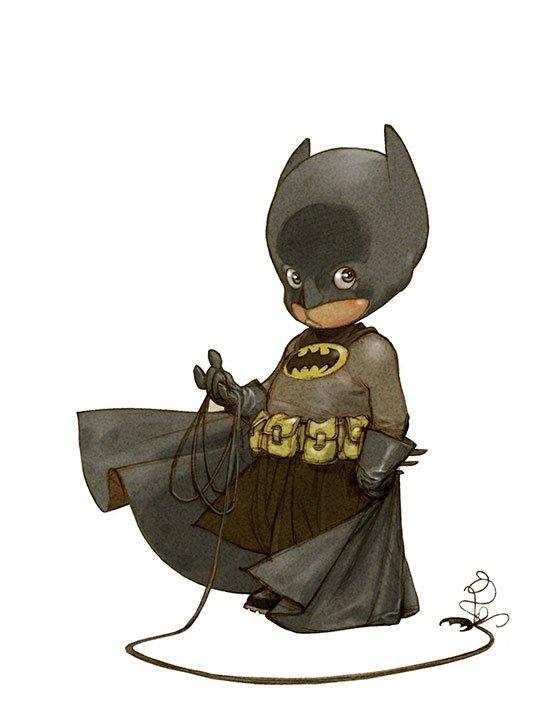 Little-Superheroes-Batman, little heroes