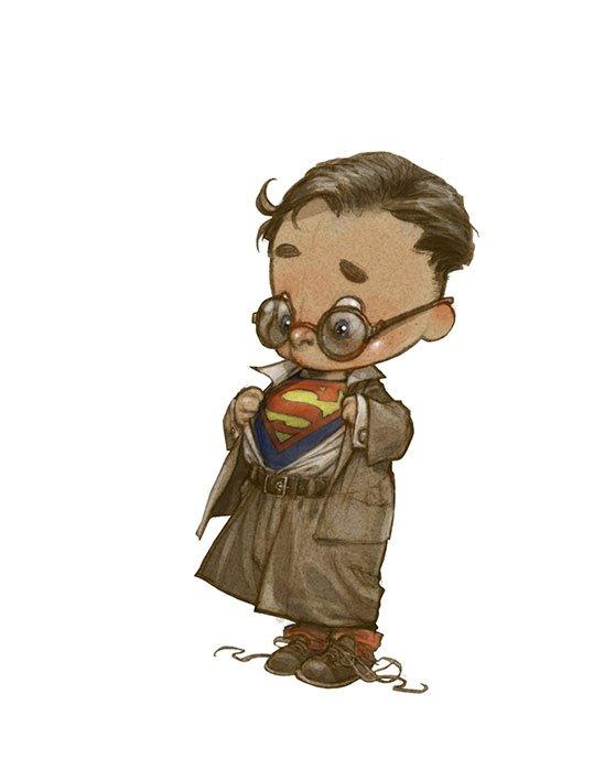 Little-Superheroes-Superman