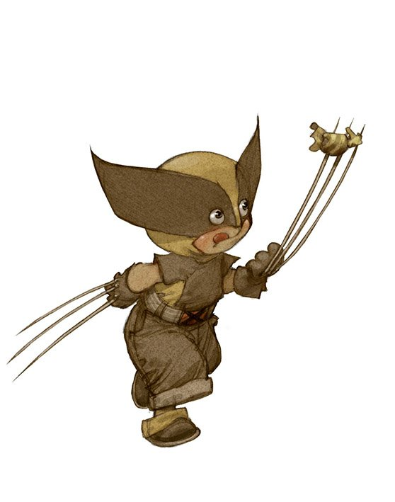 Little-Superheroes-Wolverine