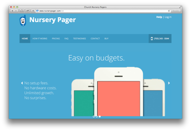 Nursery Pager Screenshot