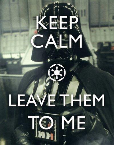 SW Keep Calm - Vader