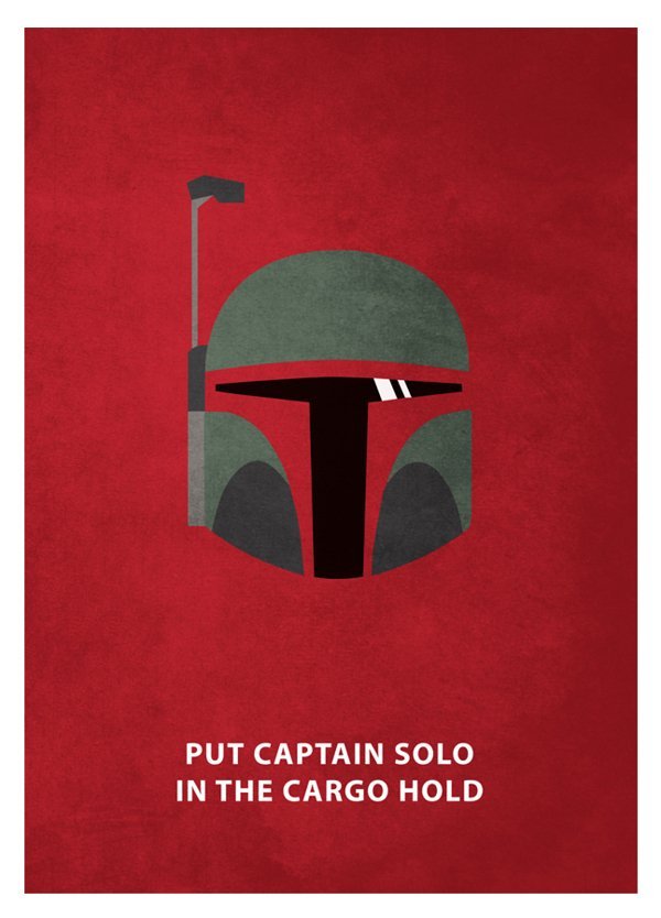 Star Wars Minimal Posters with Quotes