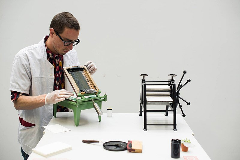 Miniature Printing Press
