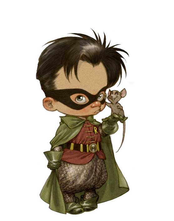 robin_big, little heroes