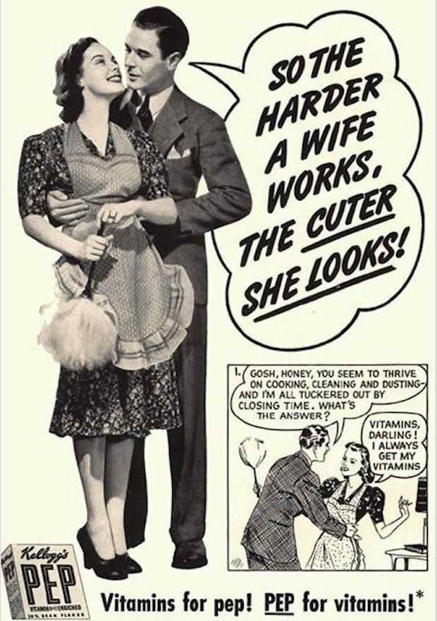 sexist vintage retro ads 8