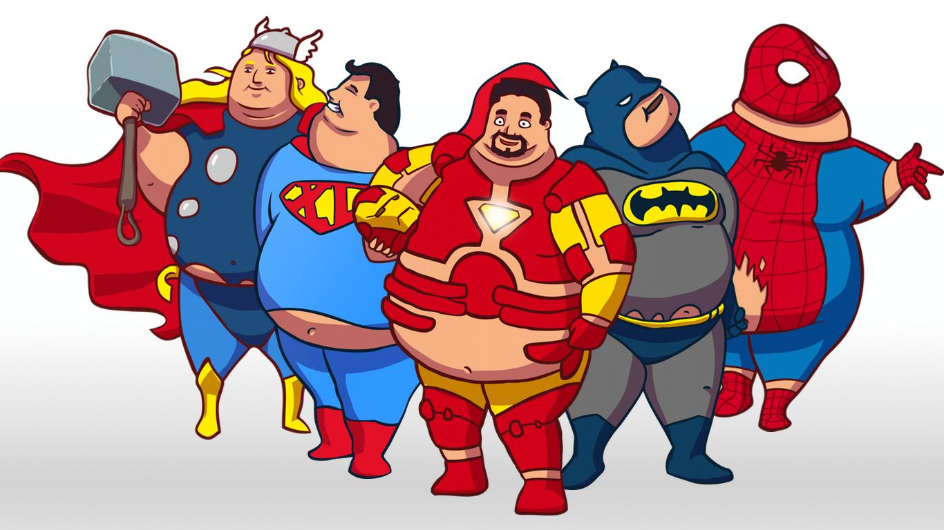 SuperSized Superheroes [Images]