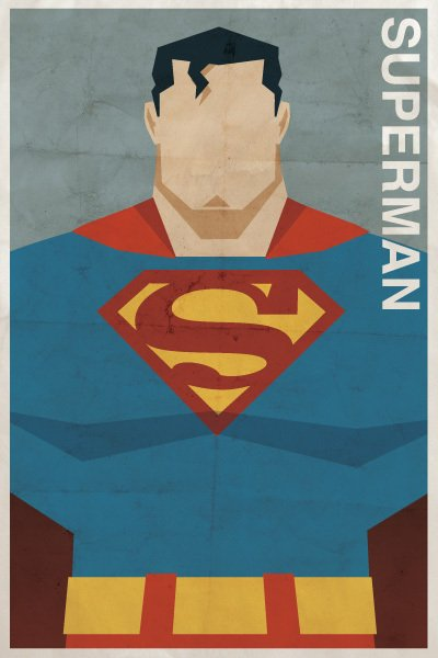 vintage dc - superman