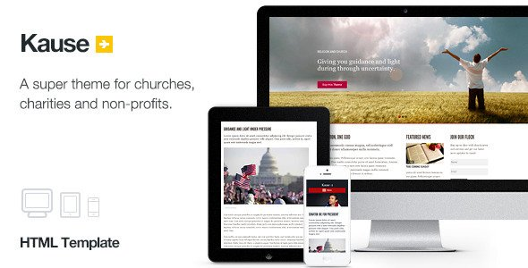 Some Of The Best Responsive Church HTML Templates