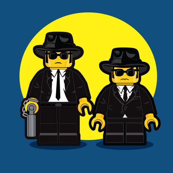 LEGO Illustrations Of Iconic Characters From The 1980s 2