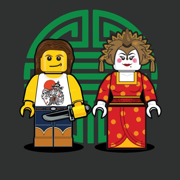 LEGO Illustrations Of Iconic Characters From The 1980s 4