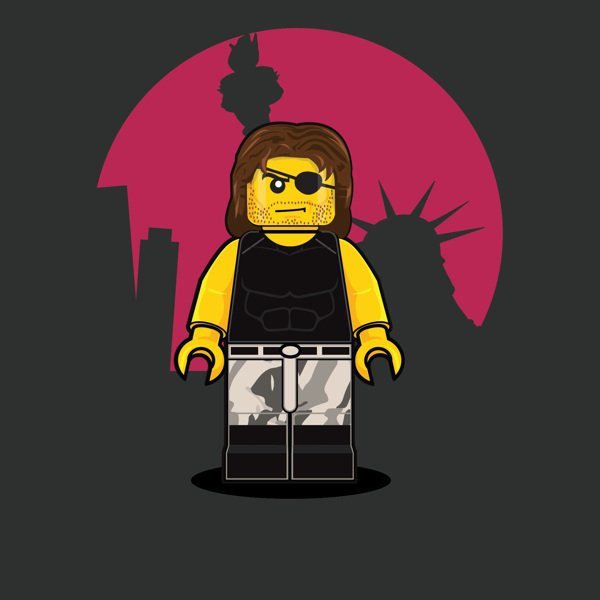 LEGO Illustrations Of Iconic Characters From The 1980s 6