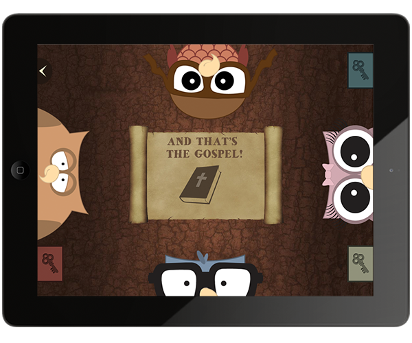 Owlegories: A Christ-Centered Storybook App for Kids