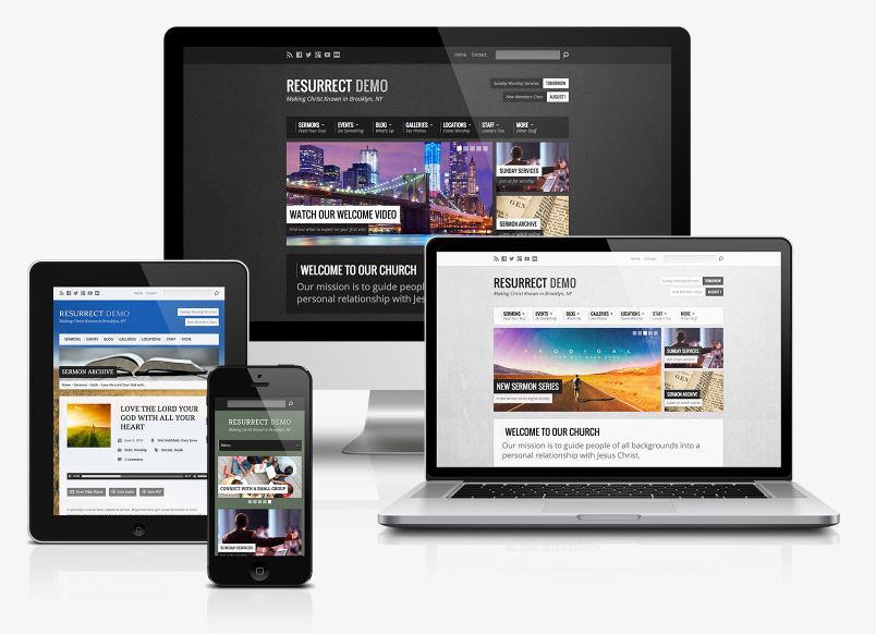 Resurrect Theme: A Professional Church Website Made Easy