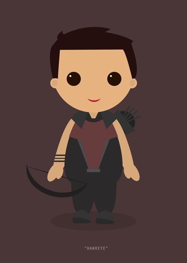 Little Avengers Hawkeye