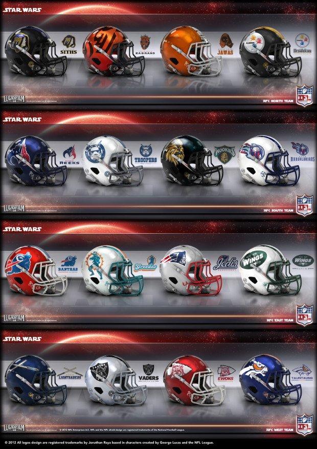 Star Wars NFL AFC