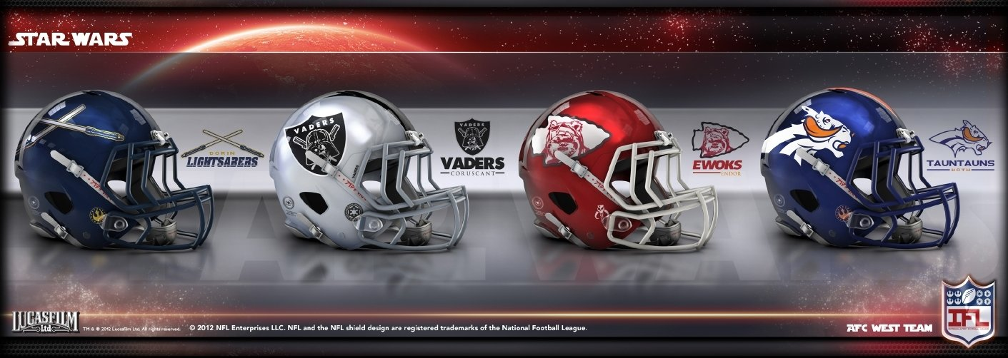 The NFL Meets Star Wars [Images]