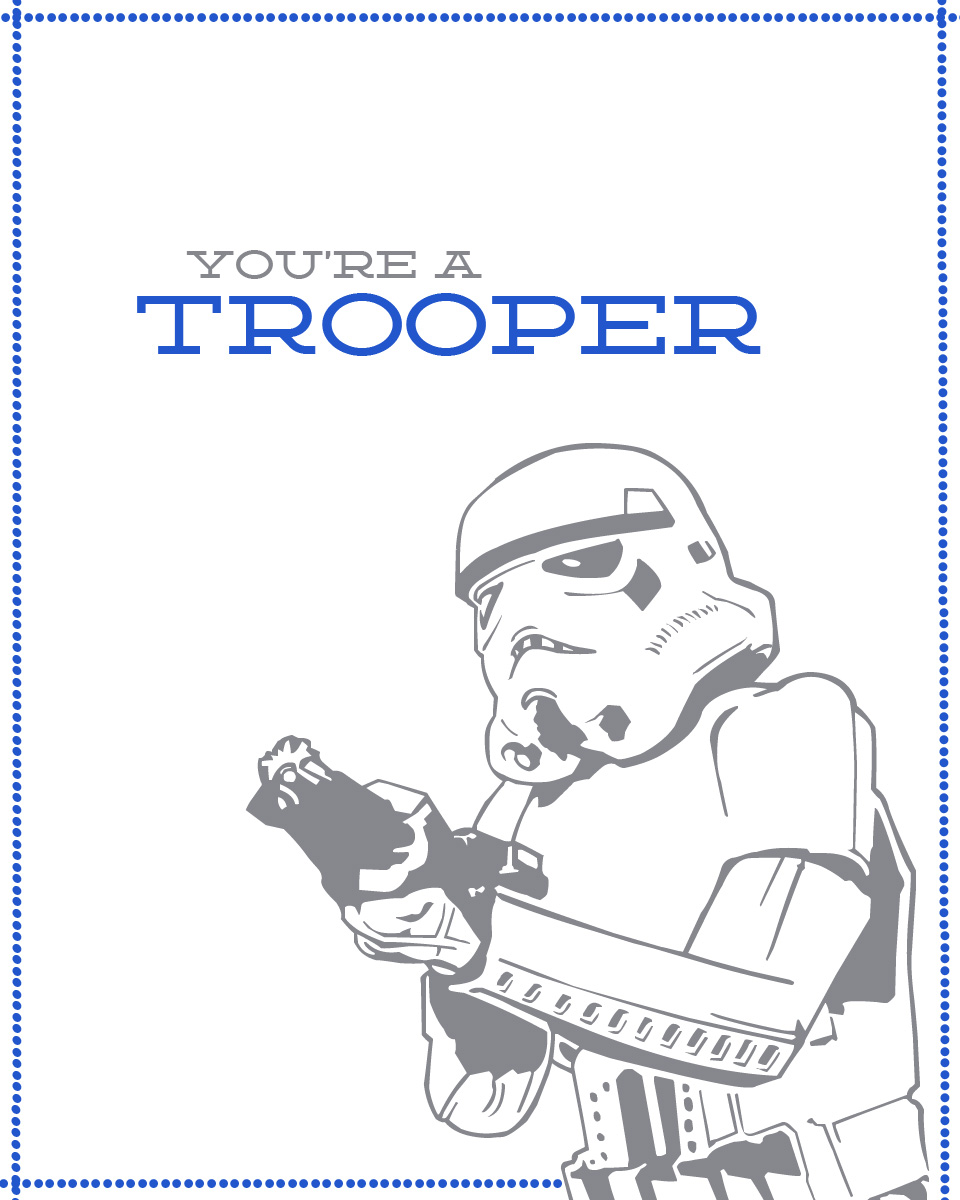 Star Wars - trooper