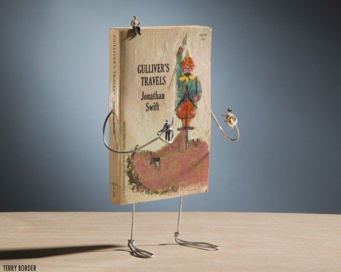 Bent Objects: Making Books Come Alive (with Wire?) [Images]