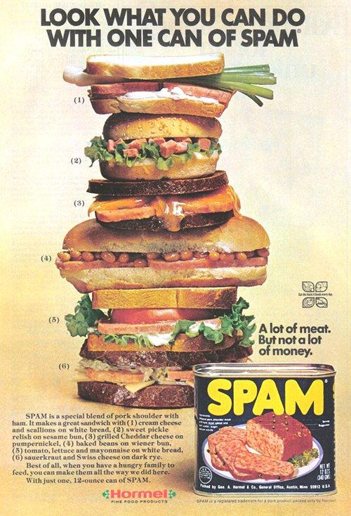 fancy spam