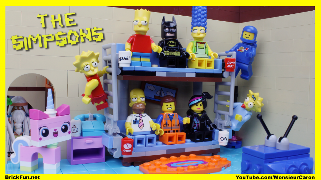 The LEGO Movie + The Simpsons Intro = AWESOME Mashup