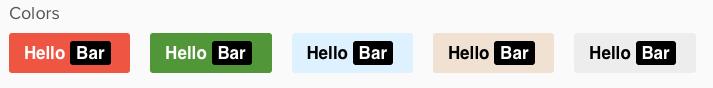 custom banner bar colors