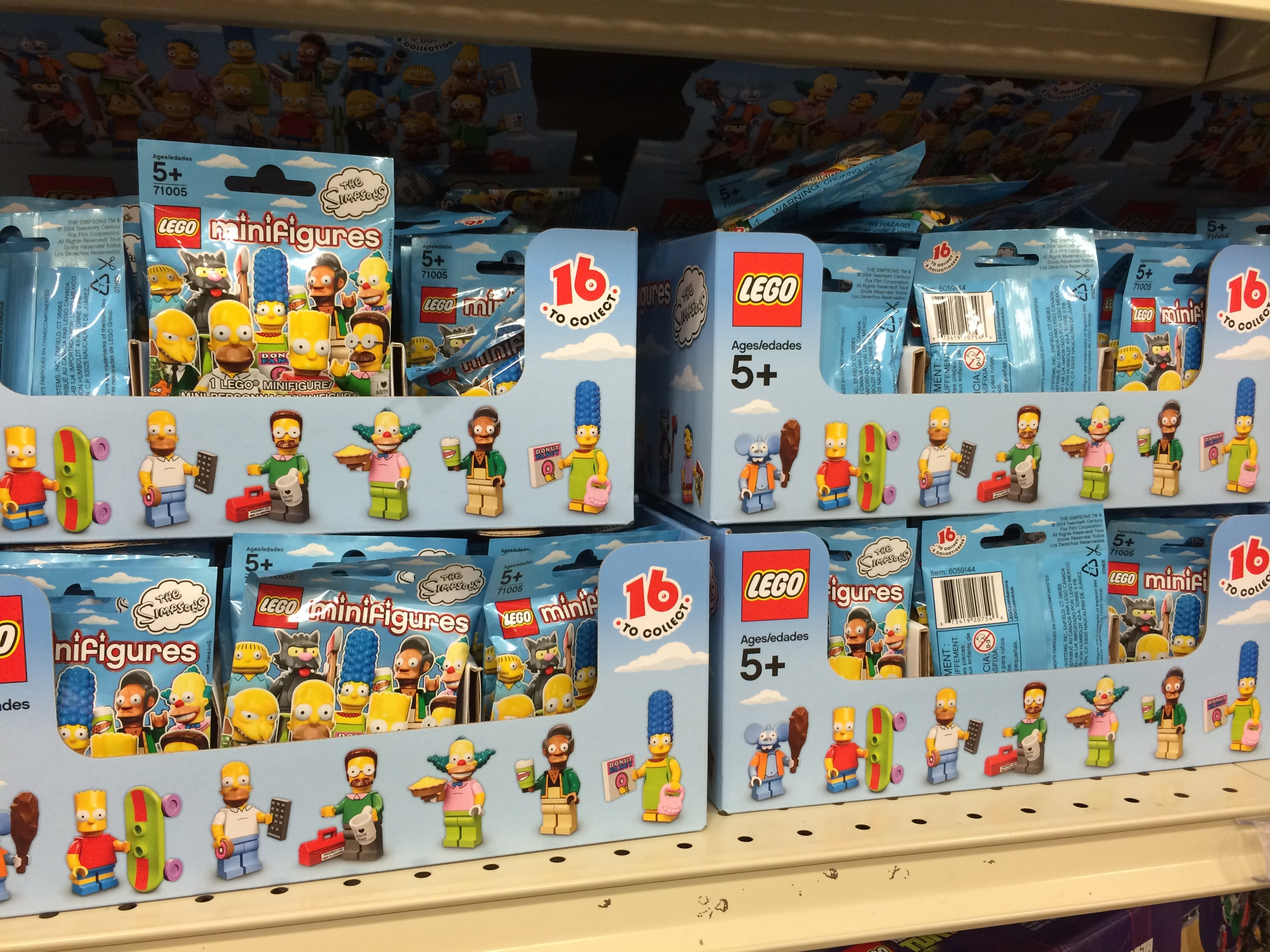 D'oh! The Simpsons Got LEGO-fied