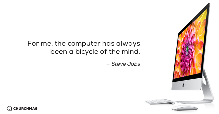 Steve Jobs and the Bicycle of the Mind [Video]