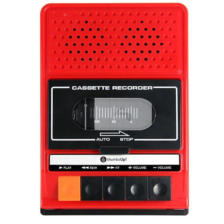 iRecorder - Retro Cassette Player Styled Portable Speaker For iPhone 2