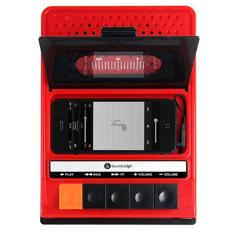 iRecorder - Retro Cassette Player Styled Portable Speaker For iPhone 3