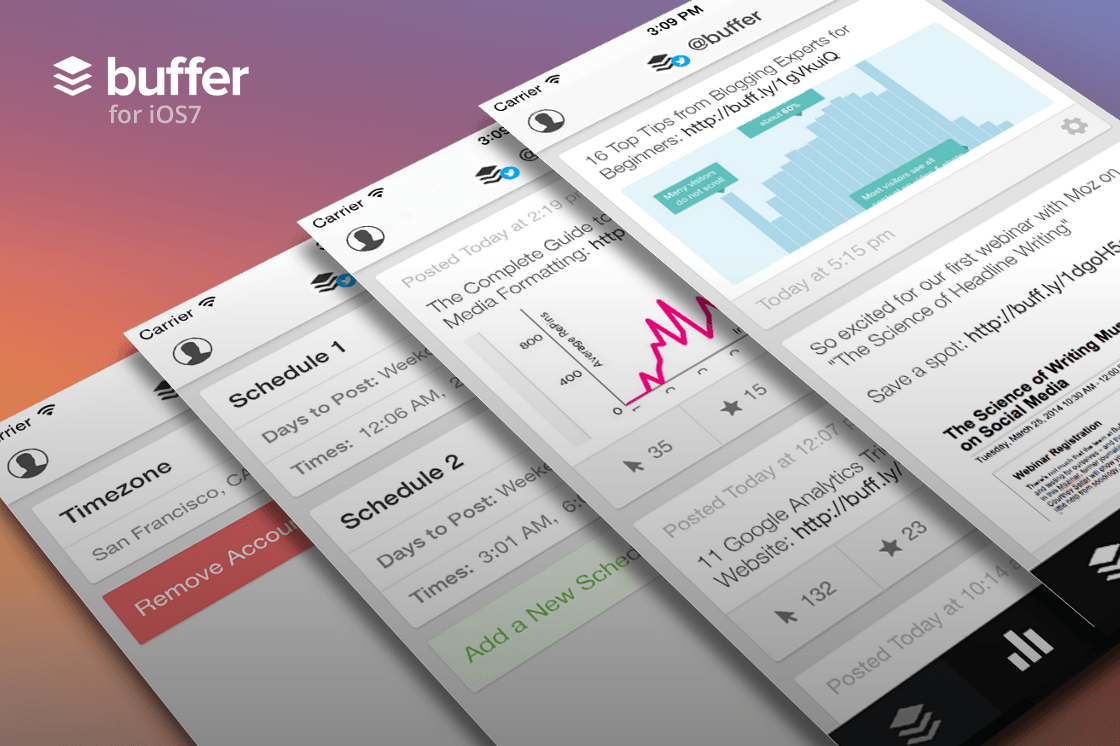 Get Buffer and Level Up Your Social Media [App Update]