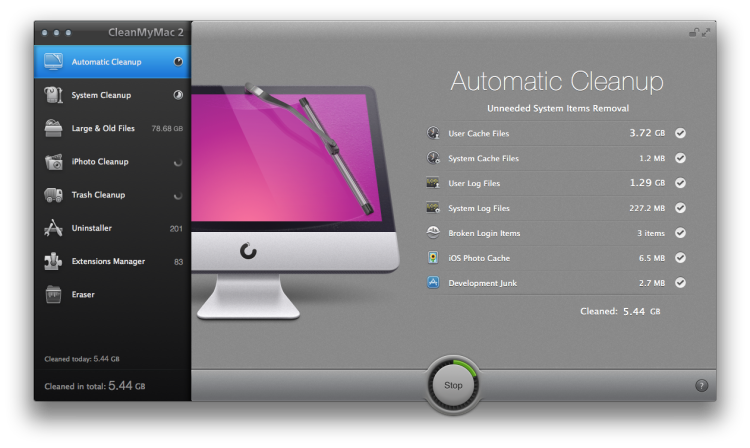 CleanMyMac 2 Mac Cleaner 1