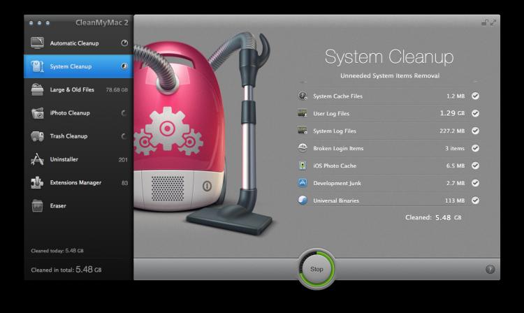 CleanMyMac 2 Mac Cleaner 2