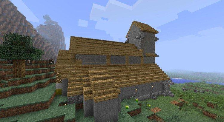 2nd Minecraft church 02