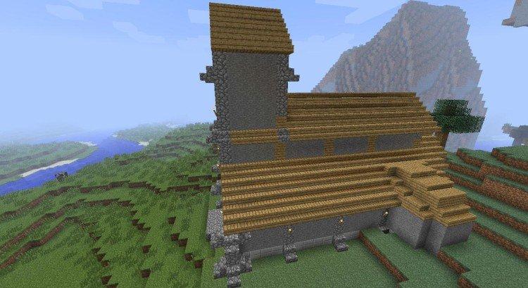 2nd Minecraft church 03