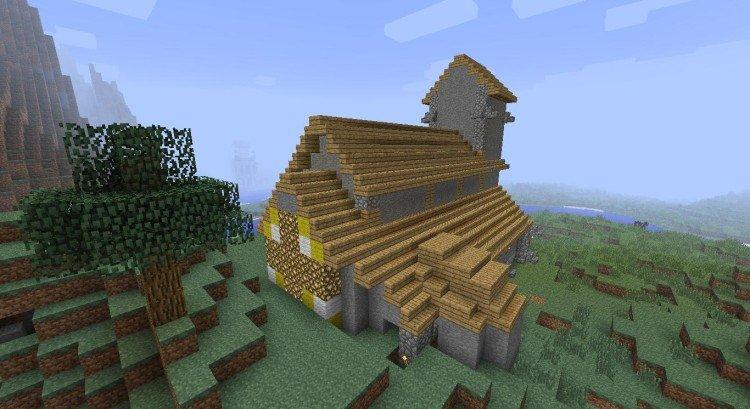 2nd Minecraft church 04
