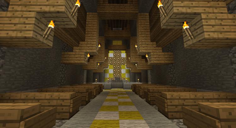 2nd Minecraft church 05